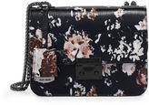 Henri Bendel Waldorf Floral Print Chain Party Bag
