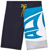 Animal Navy and Blue Benny Branded Boardshorts