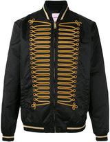 Palm Angels embroidered bomber jacket - men - Polyamide/Polyester/Viscose/Metallic Fibre - 46