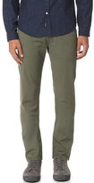 AG Jeans Sulfur Army Green Nomad Trousers