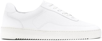 Filling Pieces x Aspesi perforated low-top sneakers