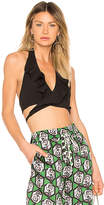 Milly Ruffle Halter Top