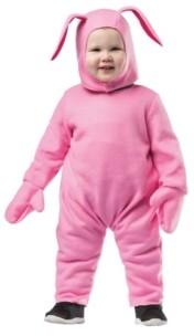 BuySeasons Christmas Bunny Baby and Toddler Boys and Girls Costume