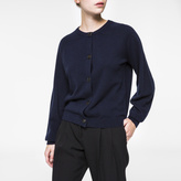 Paul Smith Women's Navy Marl Cashmere Cardigan