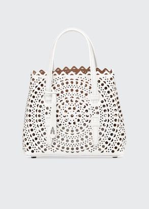 Alaia Mina Mini Vienne Laser-Cut Tote Bag