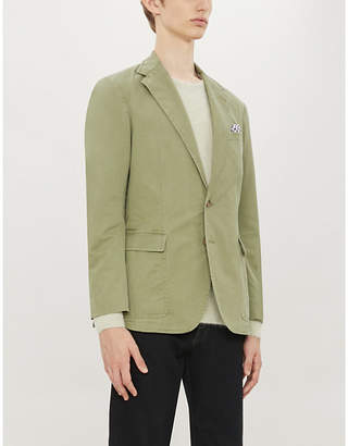 Polo Ralph Lauren Single-breasted regular-fit stretch-cotton blazer