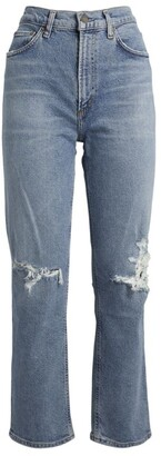 AGOLDE Wilder Cropped Jeans