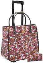 Josephine Kimberling 2-piece Flutterby Laptop Roller Bag & Pencil Case Set