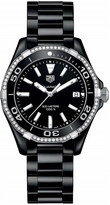 Tag Heuer WAY1395.BH0716 Aquaracer diamond and ceramic watch