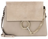 Chloé Faye leather and suede shoulder bag