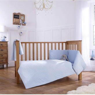 Clair De Lune Dimple Cot/Cot Bed Quilt Bumper Set