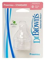 Dr Browns Dr. Brown's Dr Brown'S Preemie Teat Twin Pack - Pack of 2