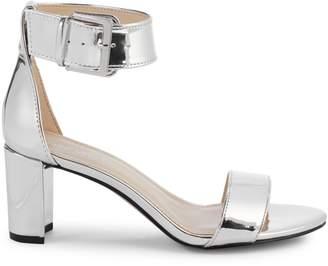 Nine West Metallic Ankle-Strap Sandals