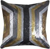 Jonathan Adler Nico Metallic Radiation Pillow - Metallic