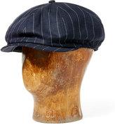 Ralph Lauren Linen-Wool Newsboy Hat