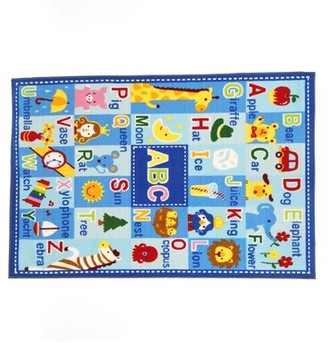 "Zoomie Kids Corina Letters and Names Area Rug Rug Size: Rectangle 3'3"" x 4'10"""