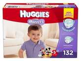 Huggies Little Movers Size 5 132-Count Disposable Diapers