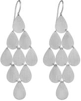 Irene Neuwirth Nine Drop Chandelier Earrings - White Gold
