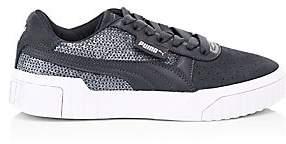 Puma Women's Cali Sequin Suede Sneakers