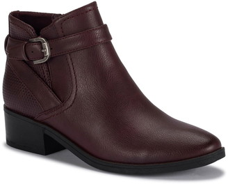Bare Traps Maci Perforated Buckle Bootie