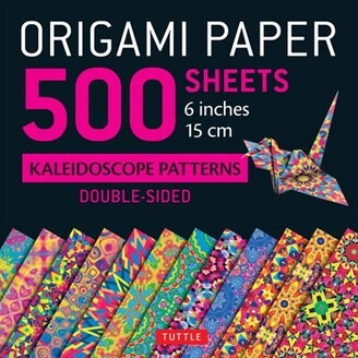 """Tuttle Publishing Origami Paper 500 Sheets Kaleidoscope Patterns 6"""" (15 Cm): Tuttle Origami Paper: High-quality Doubl..."""