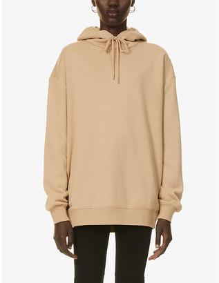 Ninety Percent Oversized organic-cotton jersey hoody
