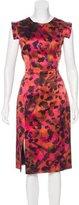 Erdem Silk Midi Dress