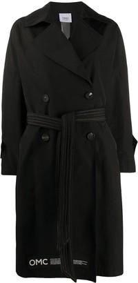 OMC oversized trench coat