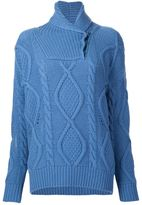 Stella McCartney fisherman's wrap neck sweater