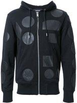 Diesel multi patch hoodie