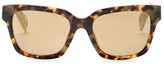 Diesel Wome's Square Acetate Frame Sunglasses