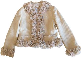 Moschino Beige Wool Jackets