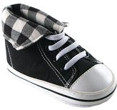 Luvable Friends Fold-Down Hi-Top Sneakers (Infant)