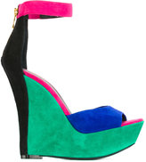 Balmain colour block wedges