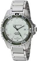 Momentum Women's Quartz Stainless Steel and Ceramic Diving Watch, Color:Silver-Toned (Model: 1M-DN11LK0)