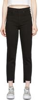 Thumbnail for your product : Rag & Bone Black Nina High-Rise Ankle Cigarette Jeans