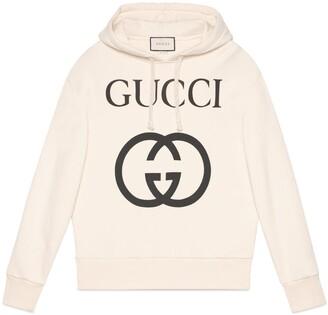 Gucci Hooded sweatshirt with Interlocking G