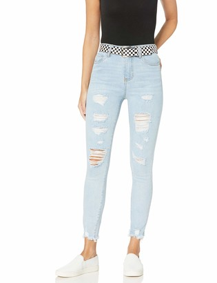 Dollhouse Women's Kara Blue Denim 11