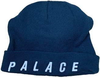Palace Blue Synthetic Hats & pull on hats