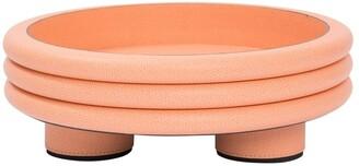 Scala Stephane Parmentier leather low round bowl
