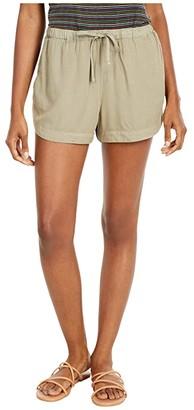 RVCA New Yume Shorts (Dusty Teal) Women's Shorts