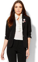 New York & Co. 7th Avenue Design Studio - Two-Button Jacket - Signature Fit - Double Stretch - Petite