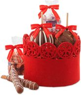 Mrs. Prindables Winter Wonderland 5-Piece Petite Caramel Apple Gift Set
