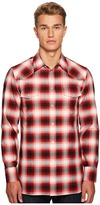 Marc Jacobs Dusty Check Western Shirt Men's Clothing