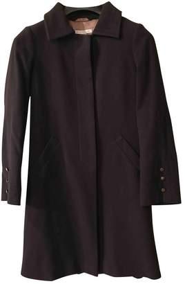 L'Autre Chose Blue Wool Coat for Women