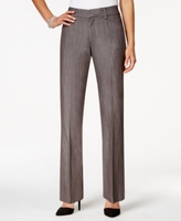 Lee Platinum Lee Platinum Petite Madelyn Carbon Rinse Straight-Leg Trousers, A Macy's Exclusive