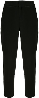 Portspure Trimmed Tapered-Leg Trousers