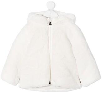 Moncler Enfant Hooded Down-Feather Jacket