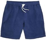 Hartford Indigo Linen Swimshort