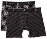 Psycho Bunny Printed Boxer Brief (2 Pack)